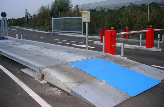 ACCESS CONTROL for weighbridges - Baron Pesi Srl